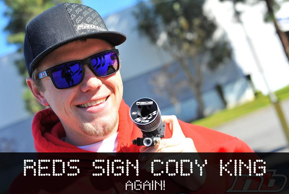 Cody King ritorna alla REDS Racing!