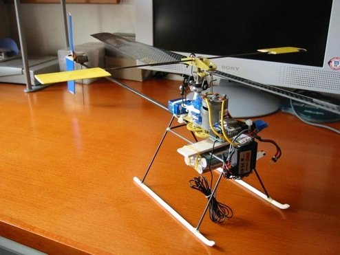 costruisci il tuo elicottero radiocomandato