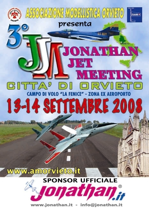Jonathan Jet Meeting Orvieto