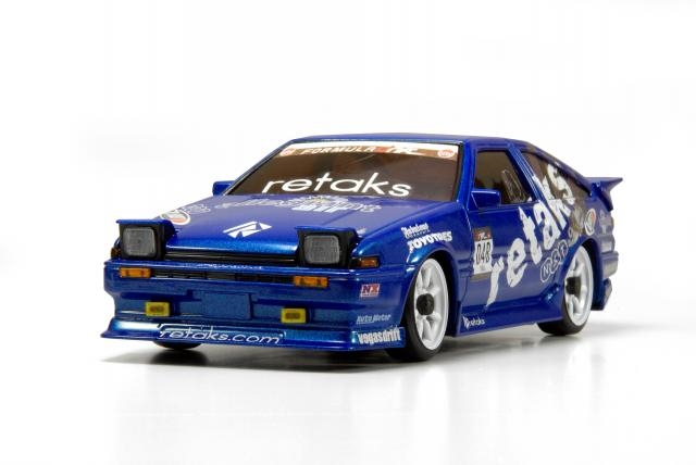drifting rc kyosho mini z formula drift in scala 1 28. Black Bedroom Furniture Sets. Home Design Ideas