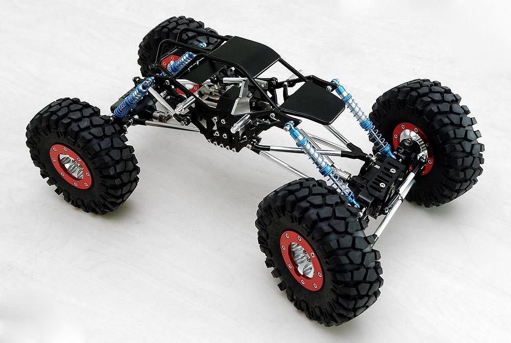 Rock Crawler Chassis : Rc wd diablo rock crawler dmg black tube chassis