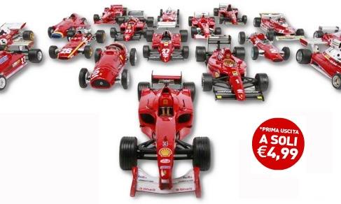 Ferrari F1 Collection Della Gazzetta Dello Sport E Fabbri Editore Opera A Fascicoli Di Modellismo In Edicola Hobbymedia