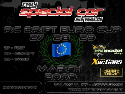 rc drift euro cup 2009