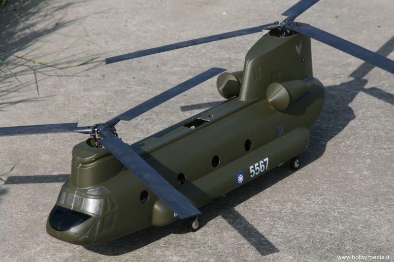 Elicottero 5 Pale : Gaui ch a chinook elicottero da trasporto due rotori