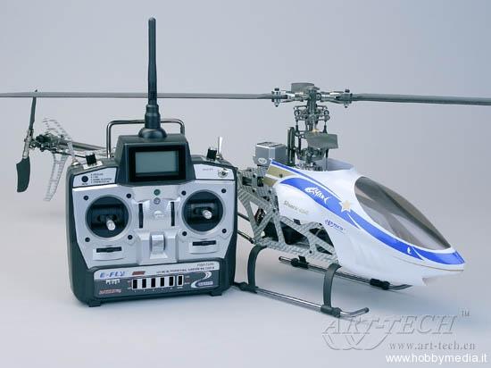 Elicottero 500 Rc : Shark ii elicottero brushless radiocomandato