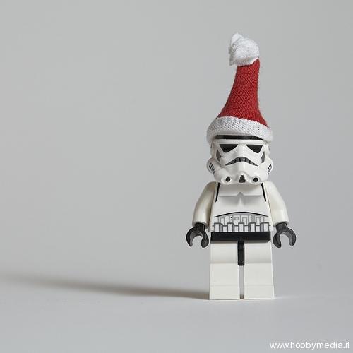 Auguri Matrimonio Star Wars : Lego auguri di natale realizzati con i mattonici