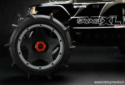 hpi-savage-aluminum-wheel-hex-hub-set-fruote-e-gomme-baja-5b