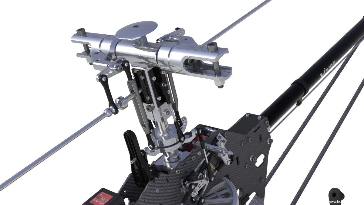Elicottero 90 : Elyq vision competition elicottero radiocomandato