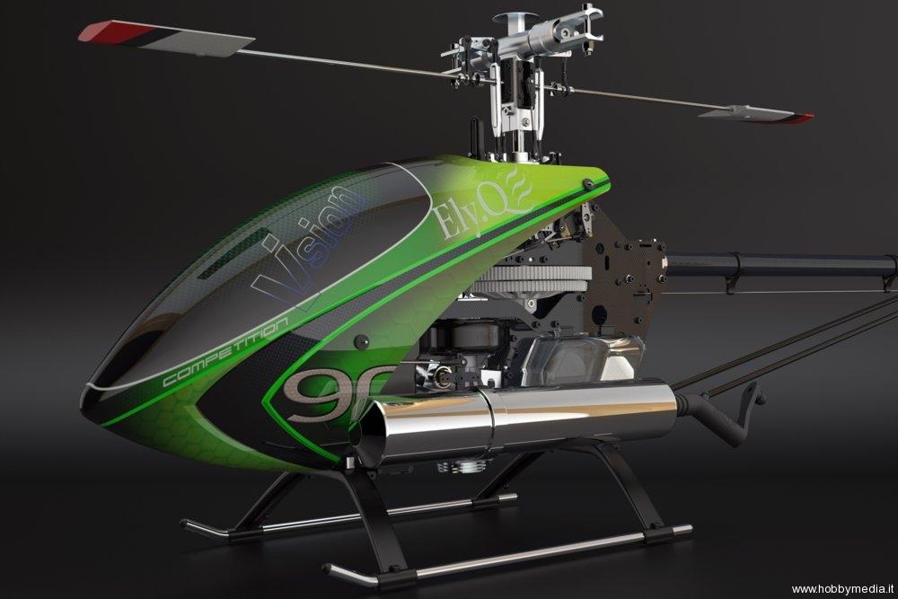 Elicottero 90 : Elicottero radiocomandato elyq vision competition video