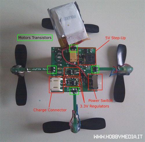 Arduino tutorial costruire un drone con webcam