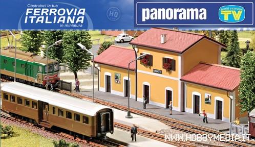 la ferrovia italiana torna in edicola con panorama e tv