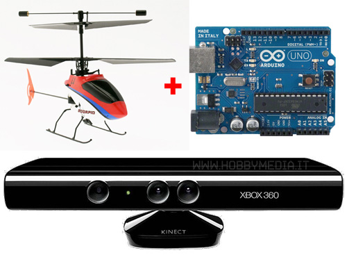 arduino-kinect-rc-heli