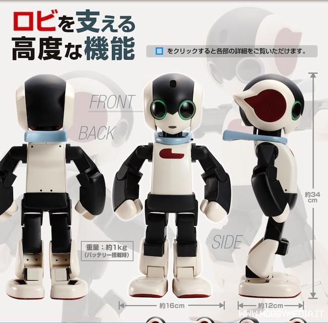 Robi, il robot che parla e si emoziona da costruire a casa -