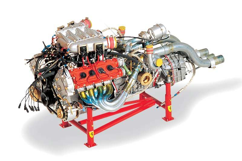 motore-ferrari-f40-modellino