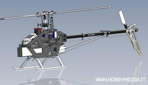 Elicottero Align T Rex 450 : Align t rex l nuovo elicottero per volo acrobatico d