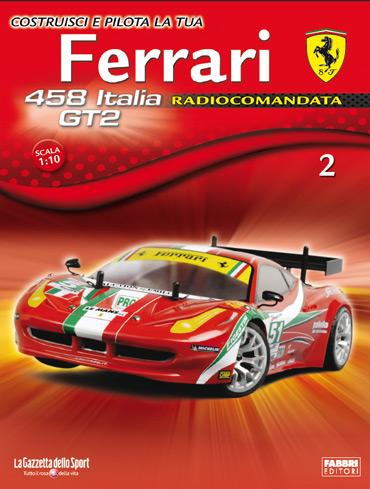 Gazzetta Dello Sport Ferrari 458 Italia Gt2
