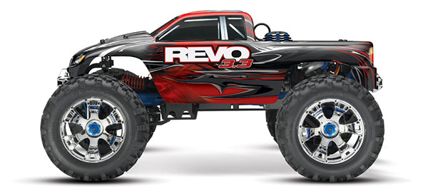 video traxxas revo 3 3 e e revo brushless edition hobbymedia. Black Bedroom Furniture Sets. Home Design Ideas