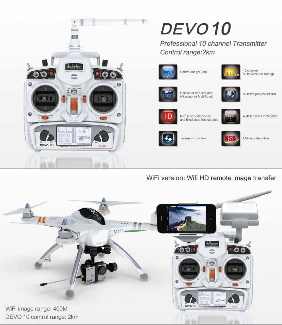 walkera qr x350 pro nuova versione del famoso drone. Black Bedroom Furniture Sets. Home Design Ideas