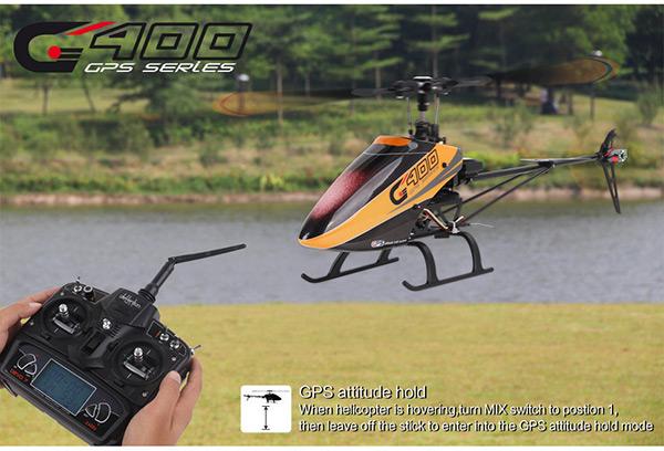 Elicottero Walkera : Elicottero radiocomandato walkera g gps scorpio