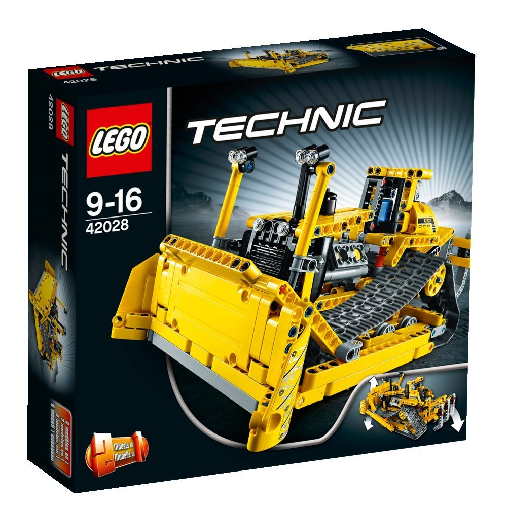 lego technic la prova del bulldozer 42028 hobbymedia. Black Bedroom Furniture Sets. Home Design Ideas