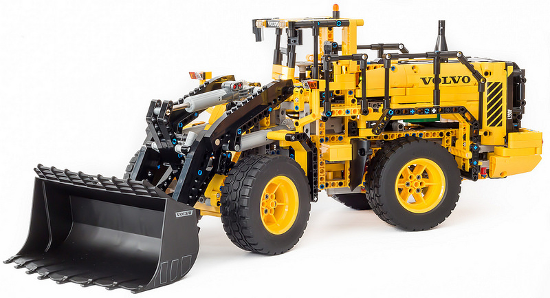 lego technic dump truck imagefiltr. Black Bedroom Furniture Sets. Home Design Ideas