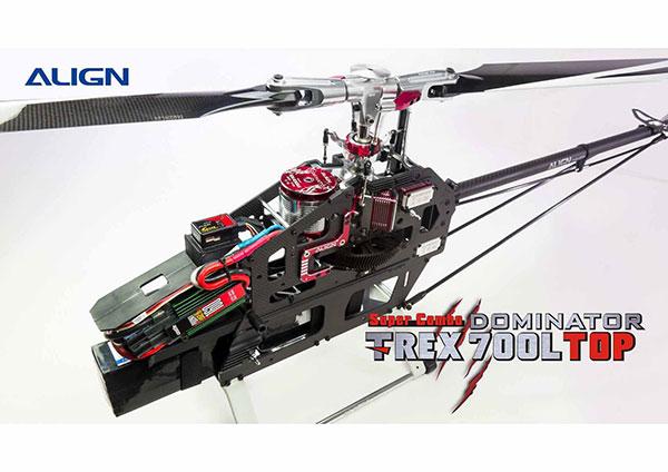 Elicottero T Rex 500 : Elicottero per volo d align t rex l dominator top sc