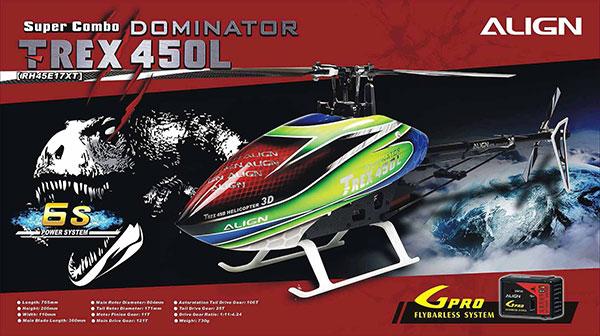 align-trex-450l-dominator-6s