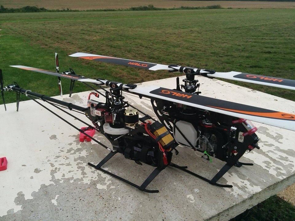 Elicottero A Scoppio Radiocomandato : Gaui nx elicottero a scoppio classe hobbymedia