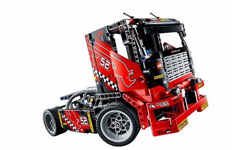 lego technic 42041 race truck riedizione del camion 8041 hobbymedia. Black Bedroom Furniture Sets. Home Design Ideas