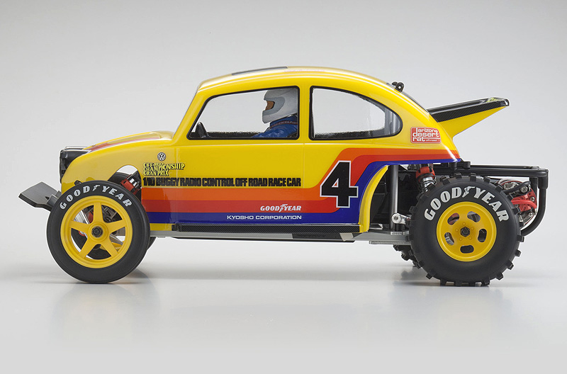 kyosho beetle  video modellismo hobbymedia