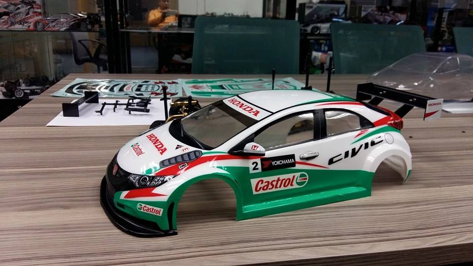 Honda Civic Type R Wtcc Carrozzeria In Scala 1 10