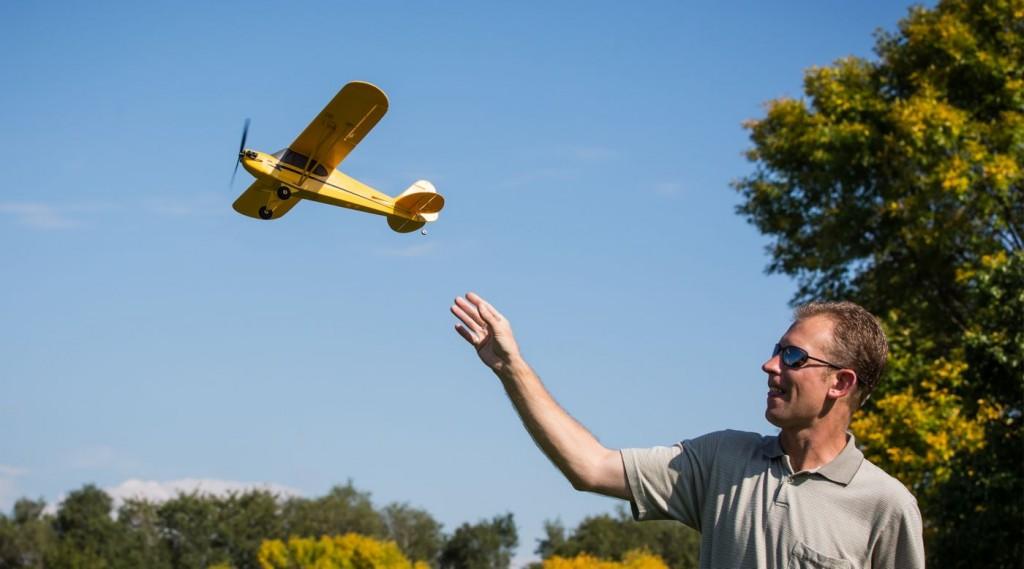Aeromodello UMX J3 Cub BNF VIDEO - HORIZON HOBBY
