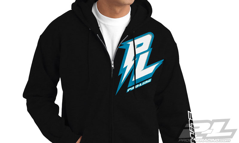 pro-line-bolt-black-zip-up-hoodie