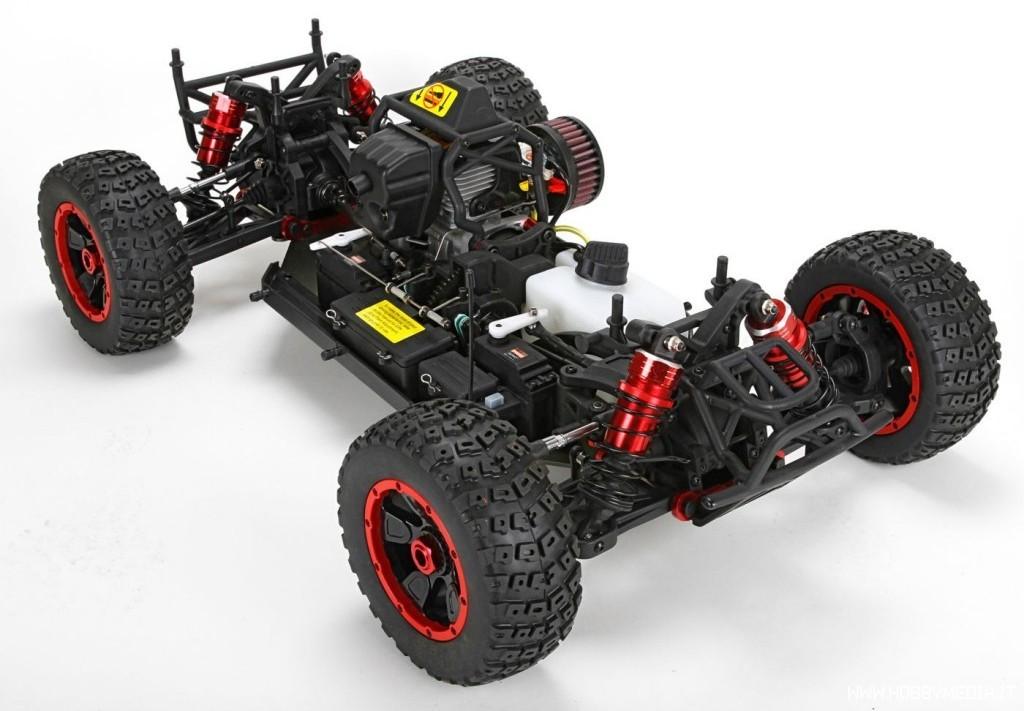 losi-kn-dbxl-4wd-buggy-telaio