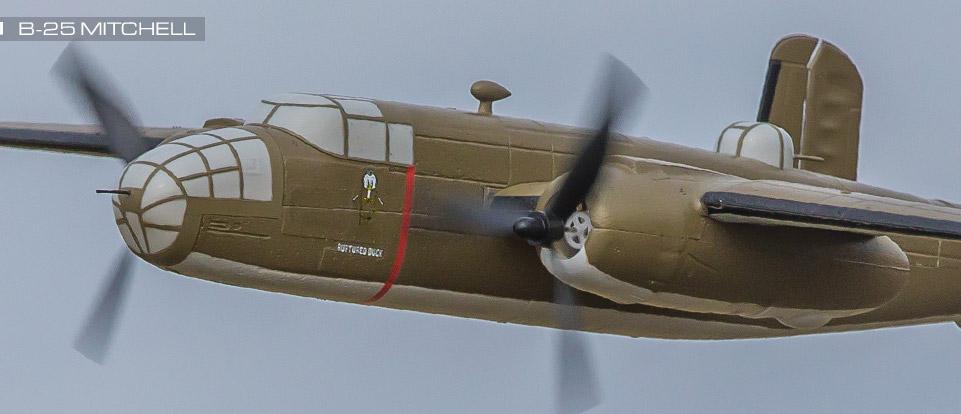 aeromodello-eflite-umx-b25-bnf-basic