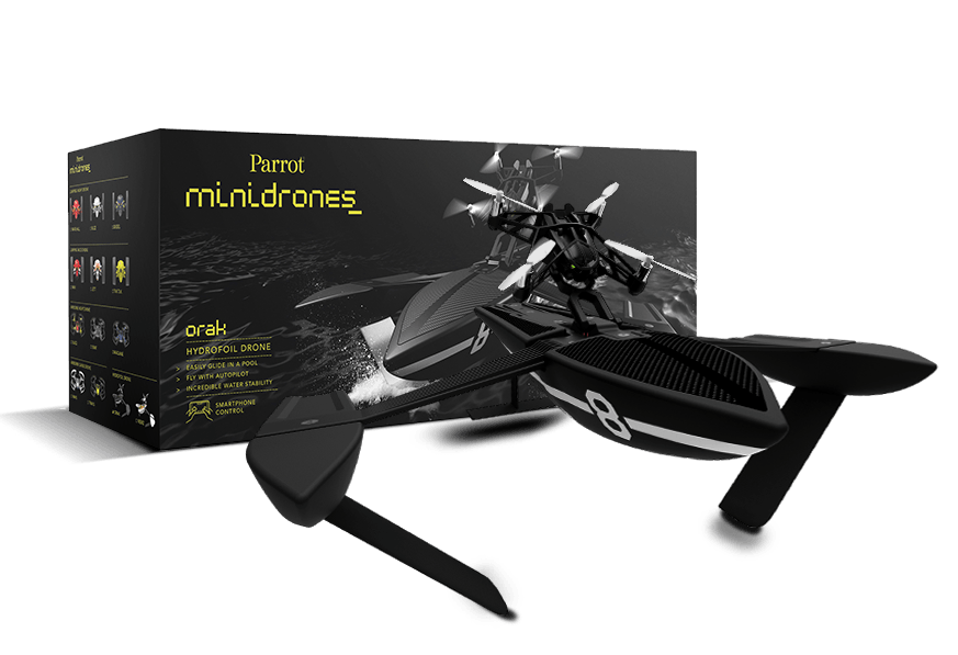 parrot hydrofoil il minidrone per l estate. Black Bedroom Furniture Sets. Home Design Ideas