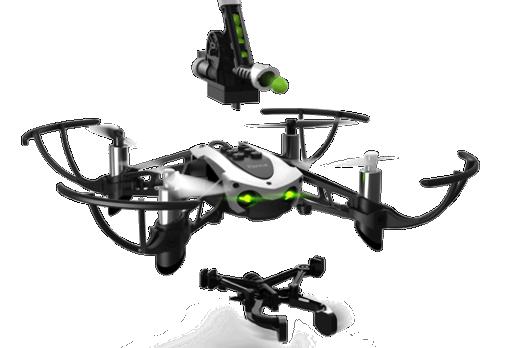 parrot mambo il mini drone sparapallini hobbymedia. Black Bedroom Furniture Sets. Home Design Ideas