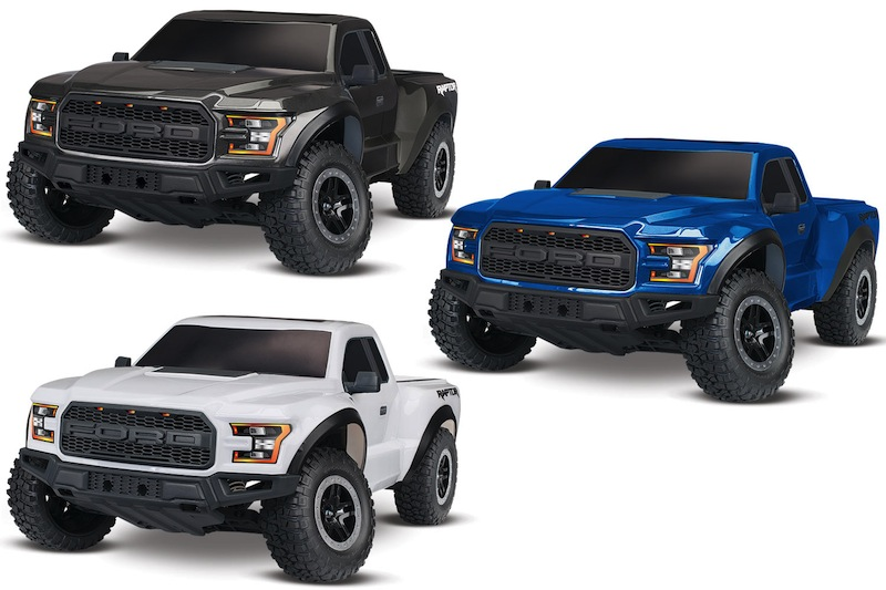 traxxas ford f150 raptor 2017 in scala 1 10 hobbymedia. Black Bedroom Furniture Sets. Home Design Ideas