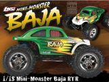 Losi Mini-Monster Baja RTR - Monster Truck in scala 1:18