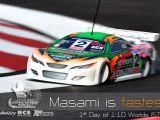 Masami è il piu' veloce alle prove del World Championship 2008 1:10