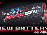 Batteria Li-Po Team Orion Carbon Pro 2S 8000mAh 90C