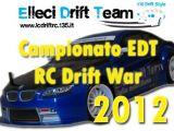 Campionato EDT RC Drift War 2012: Competizione drifting