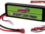 Batteria Li-Po Monza Sport Car Pack 7,4V - Scorpio