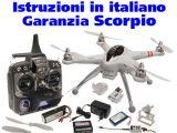 Quadricottero Scorpio QR X350 - Drone Radiocomandato