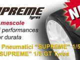 PMT Tyre: Nuove gomme Supreme per automodelli 1/5 GT