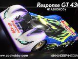 Carrozzeria Response GT430 per Tamiya F104