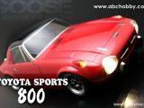 ABC HOBBY GOOSE con carrozzeria Toyota Sports 800