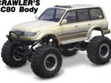 Active Hobby - Crawler's LC80 Carrozzeria Toyota Cruiser per Axial SC10 e Tamiya CR01