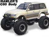 Active Hobby - Crawler's LC80 Carrozzeria Toyota Cruiser per Axial SC10 e Tamiya CR01