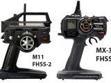 Airtronics M11 FHSS2 e MX-3FG FHSS2 - Radiocomando digitale 2.4GHz